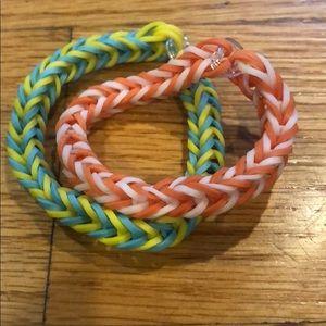 2 pack bracelets.